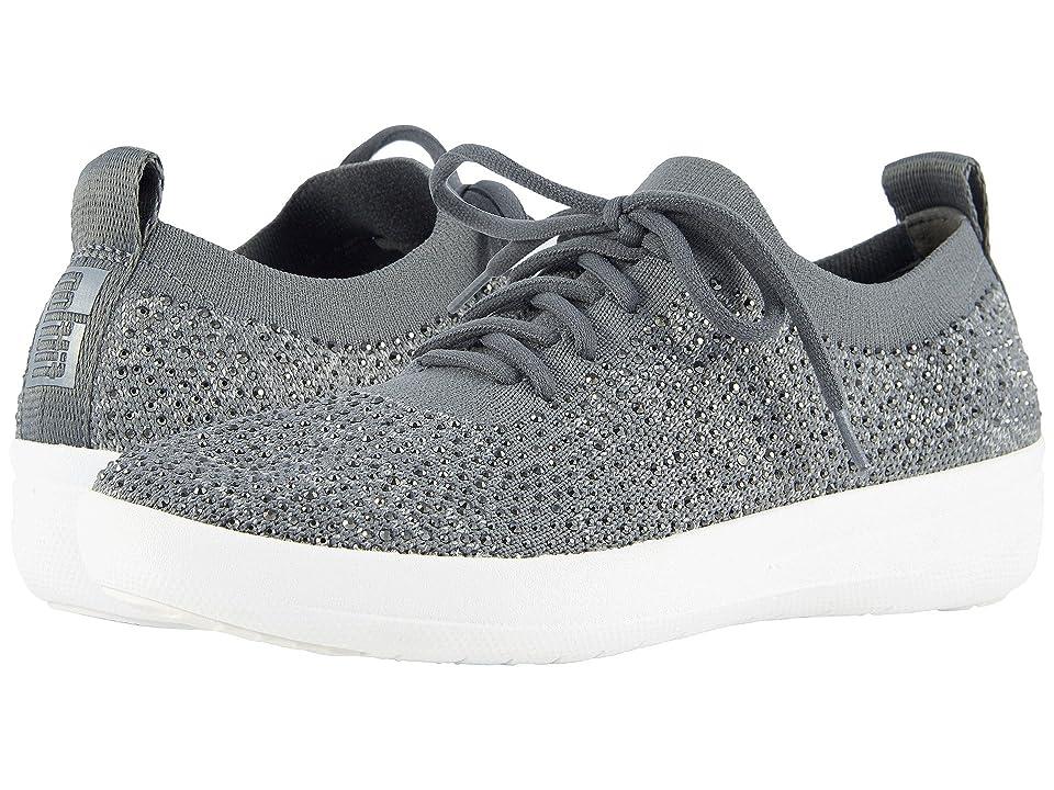 FitFlop F-Sporty Uberknit Sneakers (Charcoal/Dusty Grey) Women