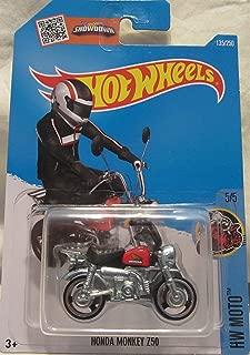 Hot Wheels, 2016 Honda Monkey Mini Bike [Black and Red] #135/250
