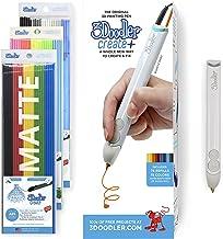 3Doodler Create+ 3D Printing Pen for Teens, Adults & Creators! - Quartz Grey (2019 Model, UK-Plug) - with Free Refill Fila...