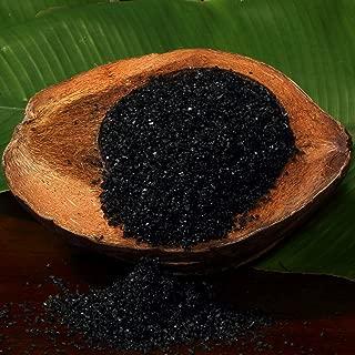 The Spice Lab Coarse Hawaiian Black Lava Sea Salt - Premium Gourmet Mineral Dense - Natural and Kosher Certified (1 Pound)