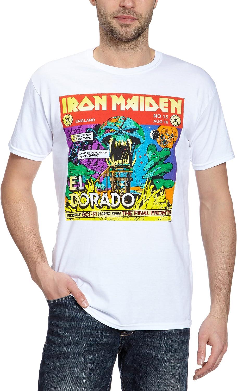 Beats & More Iron Maiden-El Dorado Camiseta para Hombre ...