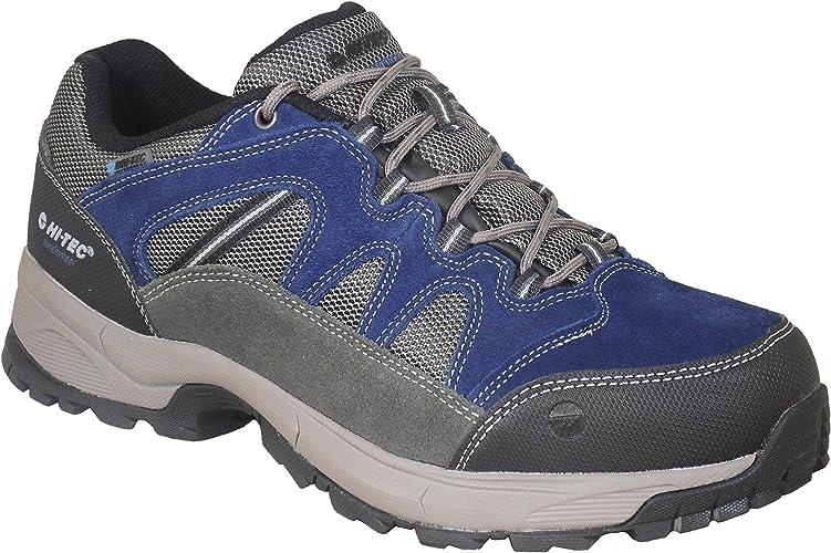 Hi-Tec Imperméable Chaussures de Randonnée Bleu