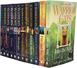 Warrior Cats Volume 1 to 12 Books Collection Set (The Complete First Series (Warriors: The Prophecies Begin Volume 1 to 6) & The Complete Second Series (Warriors: The New Prophecy Volume 7 to 12)