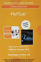 MyLab IT with Pearson eText -- Access Card -- for Skills 2016 with Technology In Action (My It Lab)