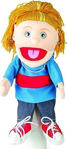 Sunny Toys 14 llow-hairot fille en Blau Top Gant Marionnette