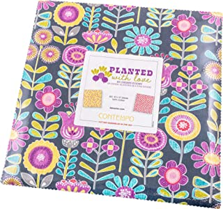Cherry Guidry Planted with Love 10X10 Pack 42 10-inch Squares Layer Cake Benartex