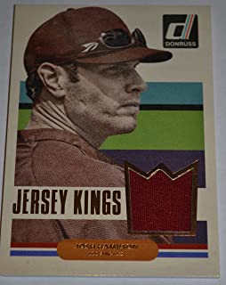 2015 Donruss Josh Hamilton Jersey Kings Baseball Card #35