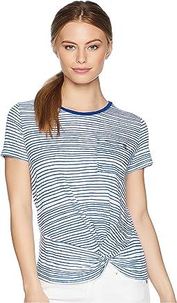 Petite Twist-Front T-Shirt