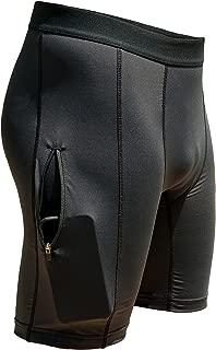 Men's Zipper Plus Compression Short