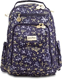 JJuJuBe x Harry Potter Backpack, Be Right Back | Travel-Friendly, Compact Stylish Backpack Purse, Adjustable Straps, For Kids and Adults | Flying Keys