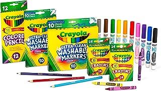 Crayola 回到學校用品套裝 48 months to 84 months 標準包裝