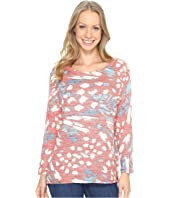 Nally & Millie - Red Multi Thermal Top