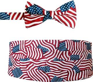 American Flag Bow Tie & Cummerbund