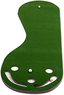 kidney shaped putting green