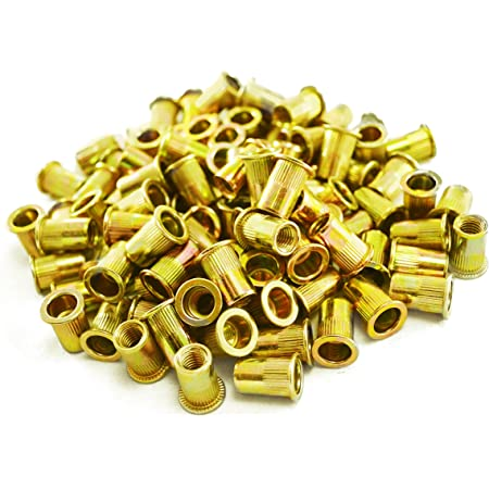 Astro Pneumatic Tool RN8M 100-Piece M8 8mm Steel Rivet Nuts