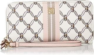 Slim Zip Wallet w/Wristlet