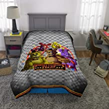 "Franco Kids Bedding Super Soft Reversible Comforter, Twin/Full Size 72"" x 86"", Five Nights at Freddy's"