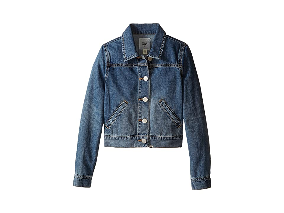 Billabong Kids Gypsy at Heart Jacket (Little Kids/Big Kids) (Vintage Indigo) Girl