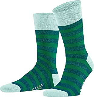 FALKE Men's Sensitive Mapped Line Socks Cotton Blue Grey More Colours Thin Calf Sock With Soft Top For All Occasions Work ...