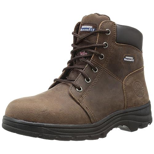 Skechers for Work Women s Workshire Peril Steel Toe Boot bf8e7ebd32