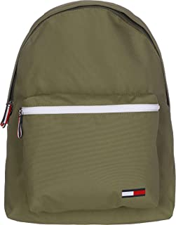 Tommy Jeans Men's Cool City Backpack Nylon, Green - AM0AM05920