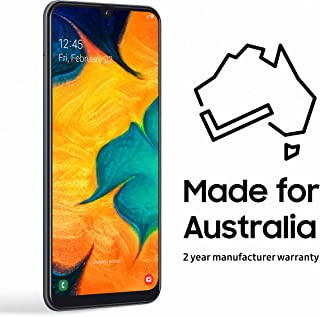 Samsung Galaxy A30 32GB Smartphone (Australian Version), Black