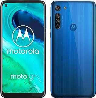 "Motorola Moto G8 - Smartphone de 6,4"" HD+ o-notch, 4G, Qualcomm Snapdragon SD665, Sistema de cámara triple, 64 GB, 4 GB RA..."