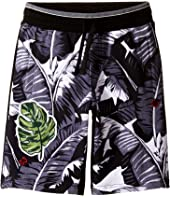 Dolce & Gabbana Kids - Banana Leaf Shorts (Big Kids)