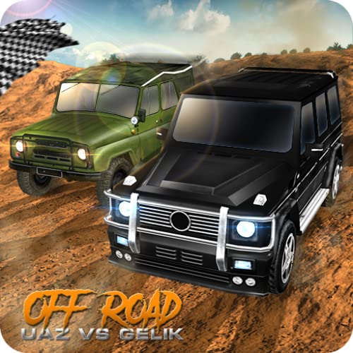 Off-Road UAZ vs Gelik