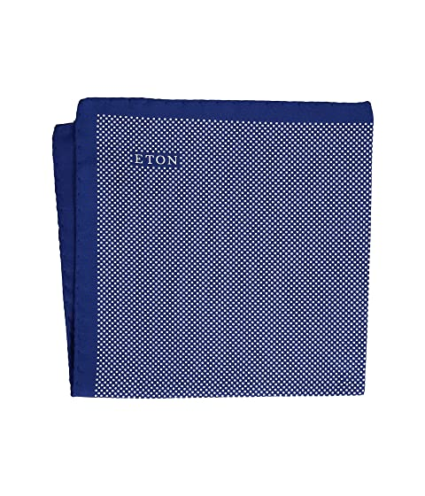 Eton Signature Dot Pocket Square