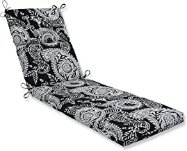 Pillow Perfect Outdoor | Indoor Addie Night Chaise Lounge Cushion, 72.5 in. L X 21 in. W X 3 in. D