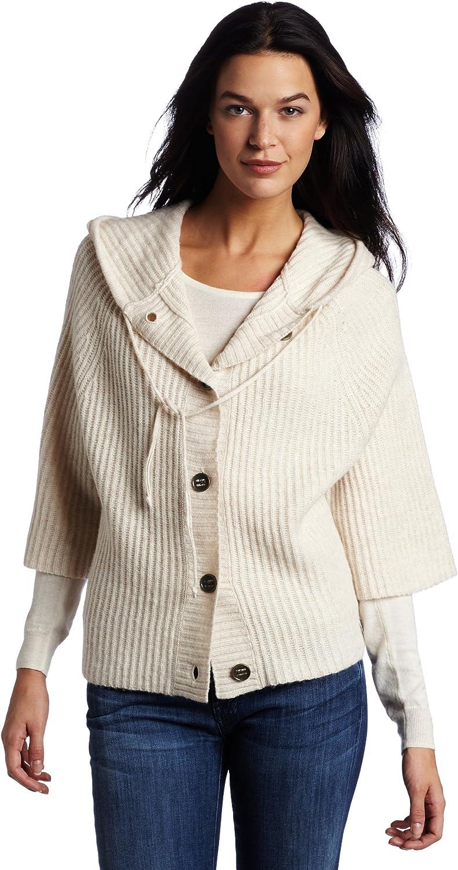 Splendid Women's Cozy Solid Button Cardigan