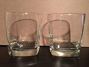 Johnnie Walker Keep Walking Prestige Square Base Rocks Glass Set | Set of 2 Glasses