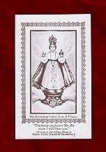 Vintage Prayer Card/Holy Card, 1946: The Miraculous Infant Jesus of Prague/Efficacious Prayer to the Holy Child Jesus. Catholic Ephemera