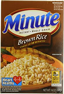 Minute Rice Brown Rice, 14-Ounce (Pack of 6)
