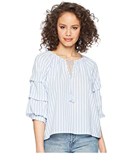 Palmer Striped Cotton Top