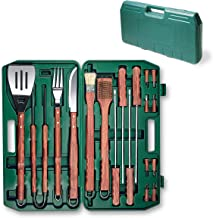 ONIVA - a Picnic Time Brand 18-Piece Deluxe BBQ Tool Set in Carry Case