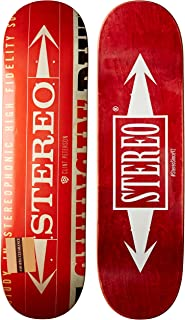 Stereo Skateboards Dollar Clint Deck, 8.25-Inch (Colors May Vary)