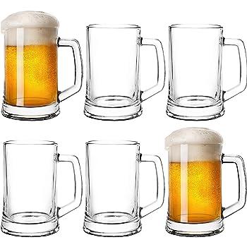 Icon - Juego de 6 vasos de cerveza (280 ml): Amazon.es: Industria, empresas y ciencia