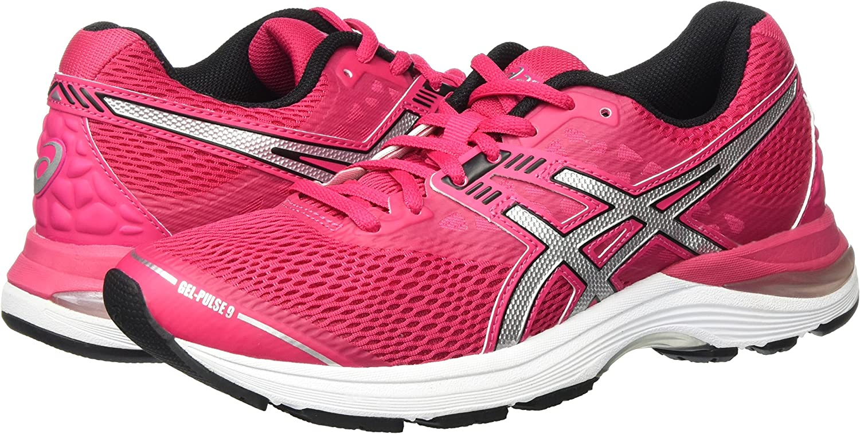 Amazon.com: ASICS 2018 Ladies Gel-Pulse 9 Road Running Sports ...
