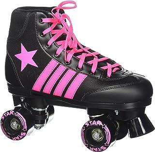 featured product Epic Skates Star Vela Indoor/Outdoor Classic High-Top Quad Roller Skates