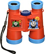Thomas & Friends Binocular Designed for Kids, Compact Roof-Prism Binoculars, Crystal Clear, Sharp & Crisp, Fun Packaging Makes for A Great Gift, Red/Blue