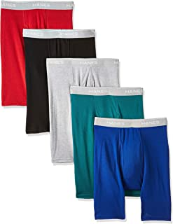 Men's Tagless Exposed Waistband Boxer Briefs