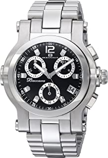 Oceanaut Men's Baccara Quartz Watch with Stainless-Steel Strap, Silver, 21.6 (Model: OC0730)