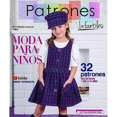 Revista Patrones Infantiles nº 15. Moda Primavera-Verano. 32 ...