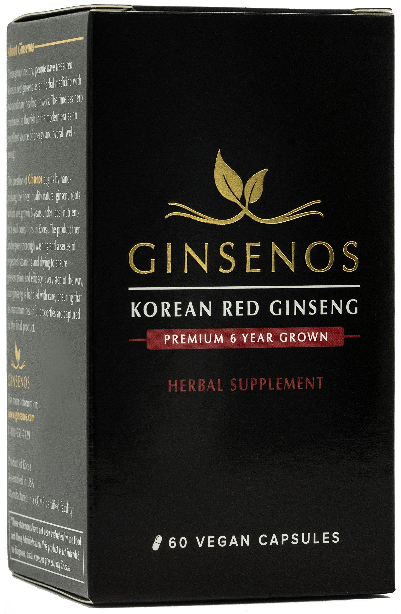 Ginsenos Premium Korean Red Ginseng