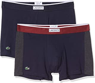 Lacoste 166946 Mens Trunk Shorts Pack of 2 Assorted Colours