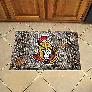 """FANMATS 19163 Team Color 19"""" x 30"""" Ottawa Senators Sc Mat (NHL Camo)"""