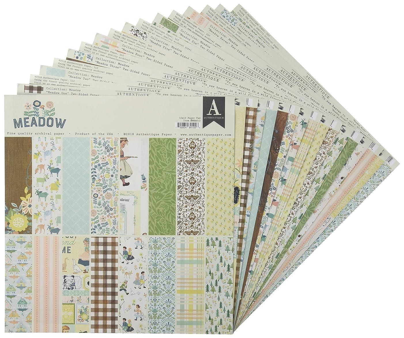 Authentique Paper MEA012 Paper Crafts, Multicolor