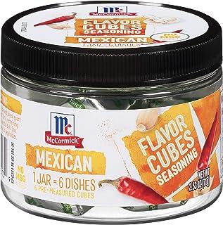 McCormick Mexican Flavor Cubes Seasoning, 2.53 oz
